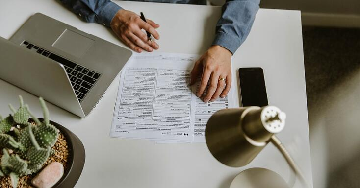 filling-out-canadian-tax-documents-picture-id1283398736